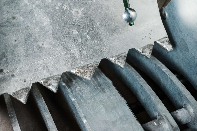 Galveniseret ståldele