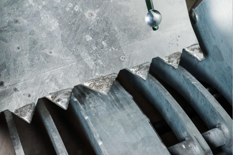 Samler steiner med en diameter på mellom 6-50 cm